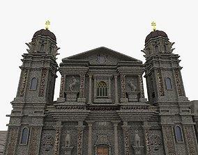 3D printable model Theatinerkirche church