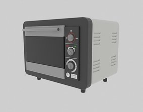 Small Oven 3D model