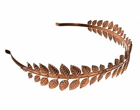 Laurel wreath headband 3D model