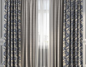 3D Curtain Set 210