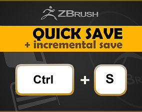 3D ZBrush QuickSave and Incremental Save
