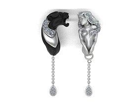 3D print model earring magerit