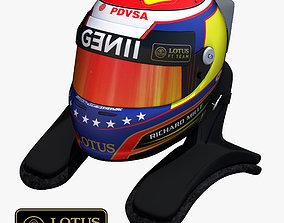 Pastor Maldonado Helmet 2015 3D model