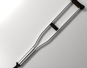 Underarm Crutch 3D