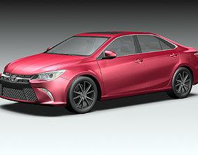 standard 3D model 2015 Toyota Camry