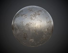 Metal Steel Rusted Seamless BR Texture 3D