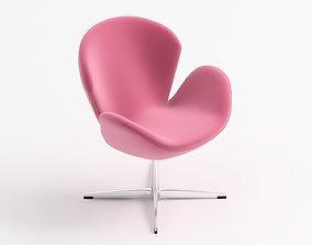 3D model armchair modern 01 model
