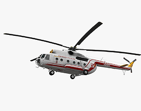 Mi-8T Poland Air Force 3D model