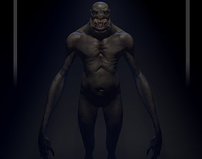 3D model Creature of the forest