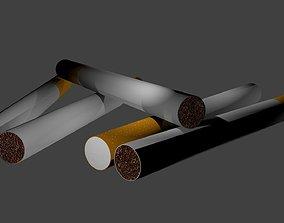 Cigarette 3D asset realtime