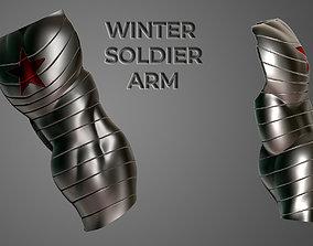 Winter soldier metal arm 3D printable model