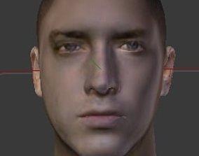 EMINEM REALISTIC HEAD 3D print model