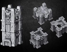 Heresylab - Fantasy Tower Dwarf 3D printable model