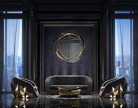 sofisticated Interior Scene 3D model