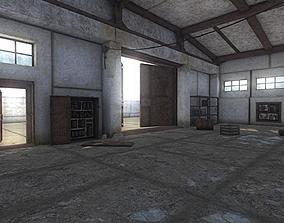 3D model HQ Abandoned Factory