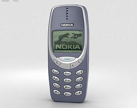mobile 3D model Nokia 3310