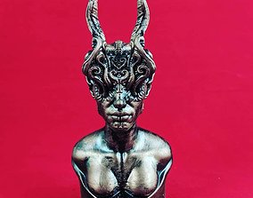 Horns 3D printable model ornate
