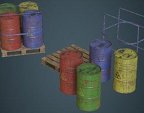 3D model Barrel 1B