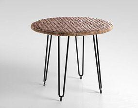 3D model Wicker Table geometry