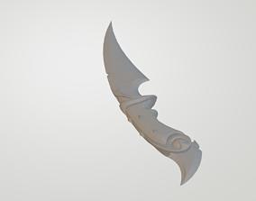 Ruin Dagger Knife 3D print model