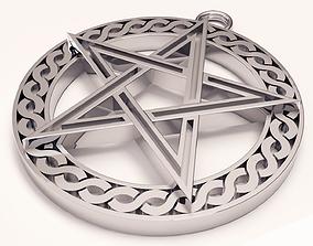 3D print model Pentagram
