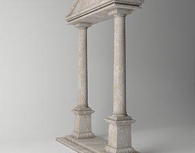 Ancient Temple Doric 3D model