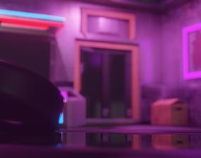 CyberPunk 2077 Build 3D asset