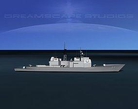 3D asset USS Gettysburg CG-64 LP