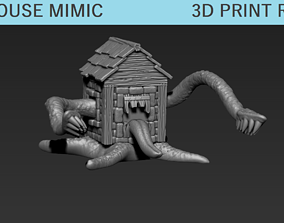 3D printable model Fantasy Tabletop Outhouse Mimic