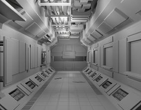 spacecraft interiors 3D model