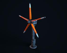 Sci Fi Wind Turbine 3D model
