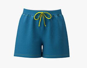 Shorts 3D asset