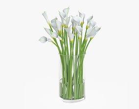 3D Callas flowers 03
