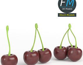 3D PBR Cherries