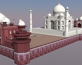 3D dome Taj Mahal