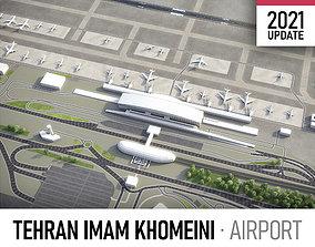3D model Tehran Imam Khomeini Airport