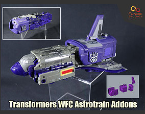 Addons for Transformers WFC Astrotrain 3D print model