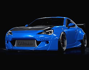3D model subaru BRZ rocket bunny