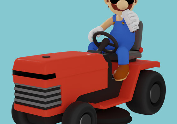 35 old year Boomer Mario