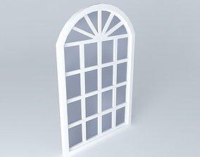 window pane 3D model