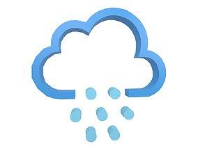 Weather Symbol v10 003 3D asset