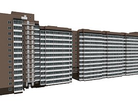 Residential Building Constructor Pack 2 3D model