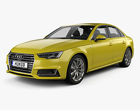 3D Audi A4 S-Line 2016