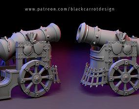 3D print model Cannon - Fantasy artillery