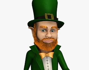 3D model Leprechaun Rigged