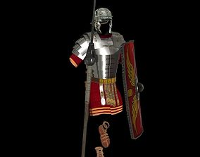 Roman armor all 3D asset
