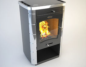 3D model SiberStove Long-Burning Heating And Cooking Stove