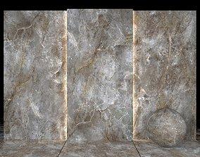 3D asset Amazon Gray Marble