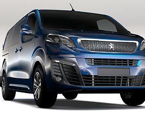 3D Peugeot Expert L3 2017
