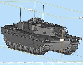 3D print model FV4030 Challenger Tank Highly Detailed
